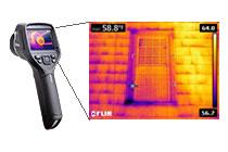 赤外線サーモグラフィーイメージ